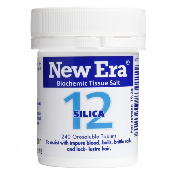 New Era No.12 Silica 240 Tablets