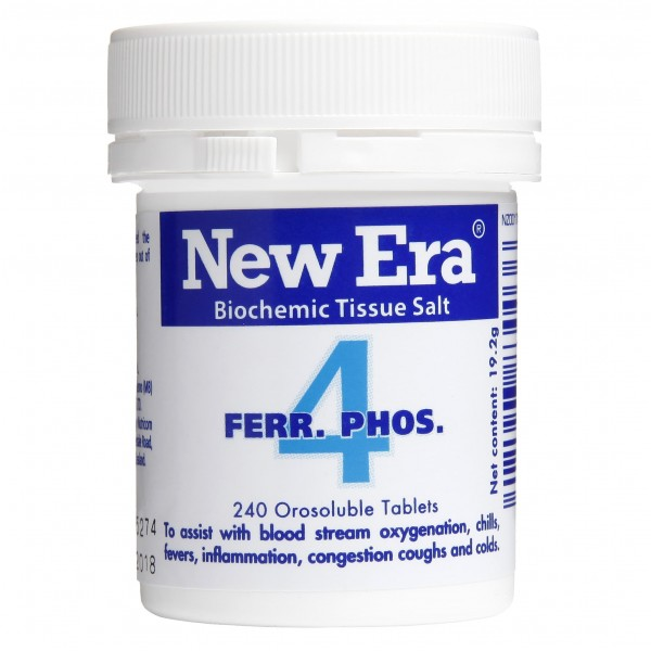 New Era No.4 Ferr. Phos. 240 Tablets