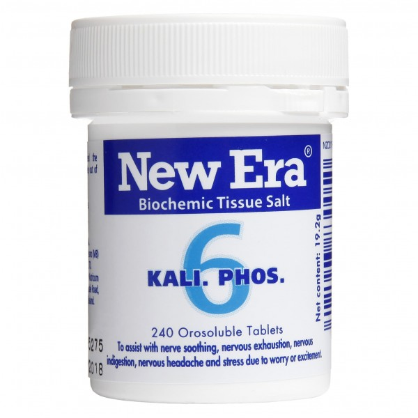 New Era No.6 Kali. Phos. 240 Tablets