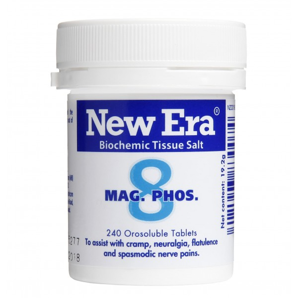 New Era No.8 Mag. Phos. 240 Tablets
