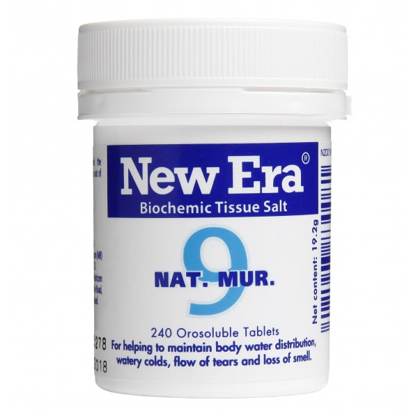 New Era No.9 Nat. Mur. 240 Tablets