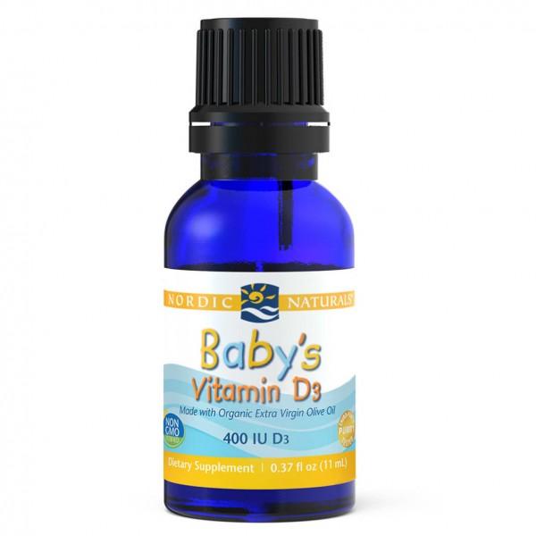 Nordic Naturals Baby's Vitamin D3 11ml