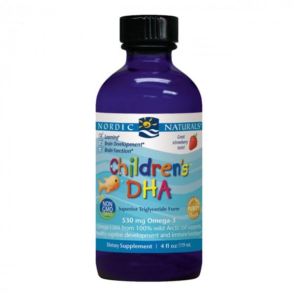 Nordic Naturals Children's DHA Liquid Strawberry