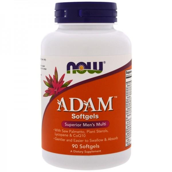 Now Foods Adam Superior Men's Multivitamin 90 Softgels