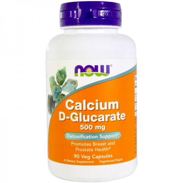 Now Foods Calcium D-Glucarate 500mg 90 Capsules