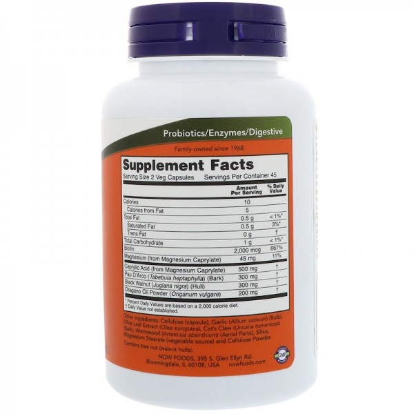 Now Foods Candida Support 90 Capsules