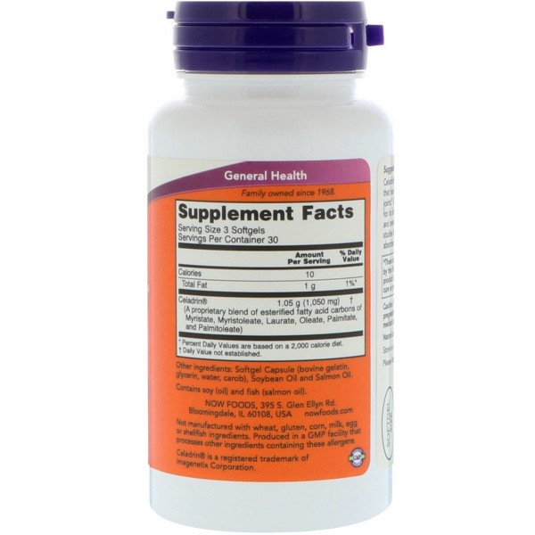 Now Foods Celadrin 350mg 90 Softgels