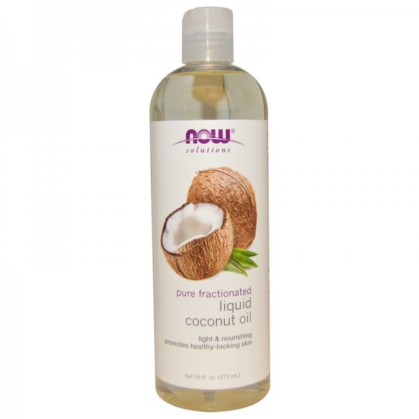 Now Foods Coconut Oil Pure Fractionated Liquid 473ml
