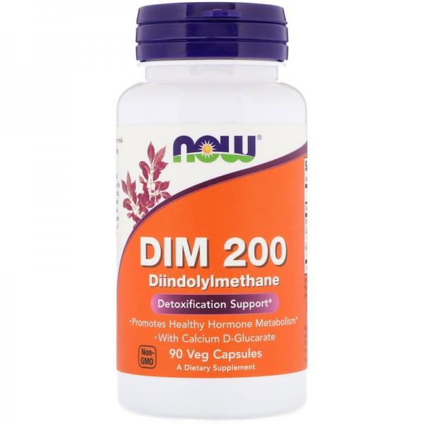 Now Foods Dim 200 Diindolylmethane 90 Capsules