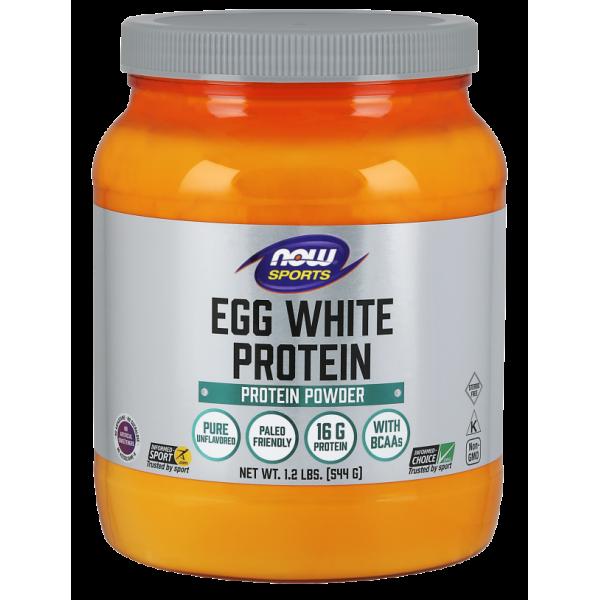 Now Foods Egg White Protein Powder 544g