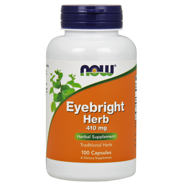 Now Foods Eyebright Herb 410mg 100 Capsules