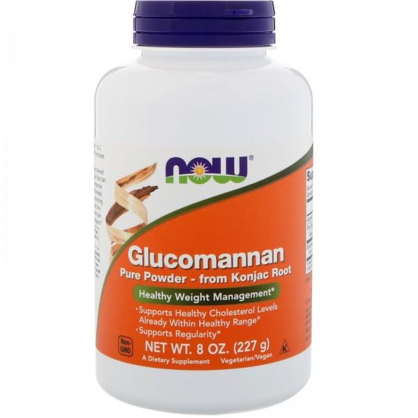 Now Foods Glucomannan Pure Powder 227g