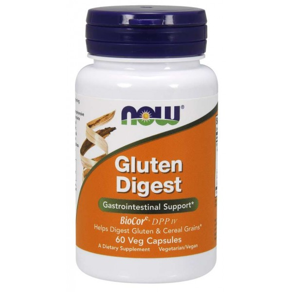 Now Foods Gluten Digest 60 Capsules