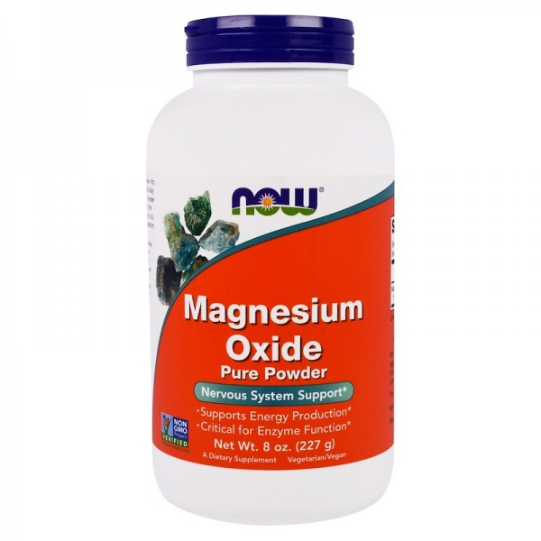 Now Foods Magnesium Oxide Powder 227g