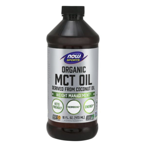 Now Foods MCT Oil Organic Derived From Coconut Oil 473ml