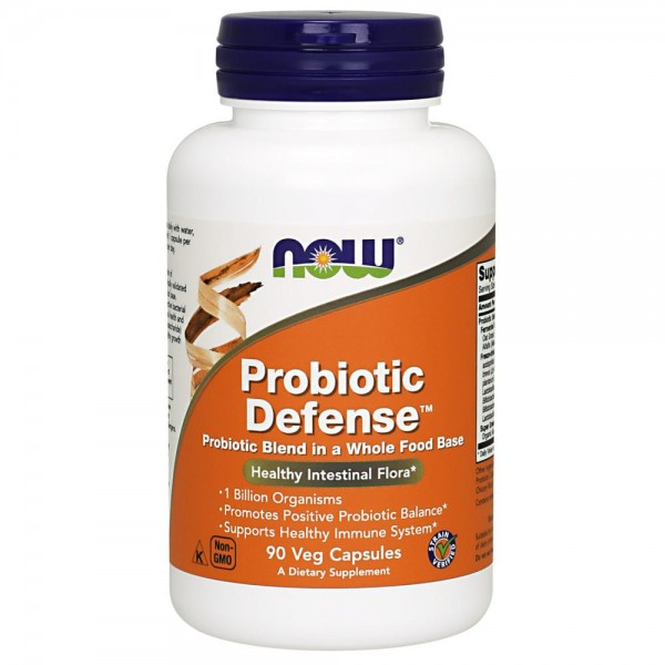 Now Foods Probiotic Defense 90 Capsules