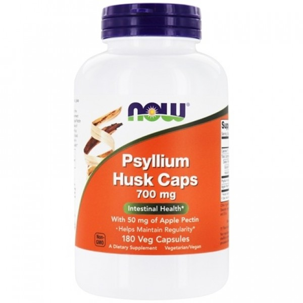 Now Foods Psyllium Husk Caps 700mg 180 Capsules
