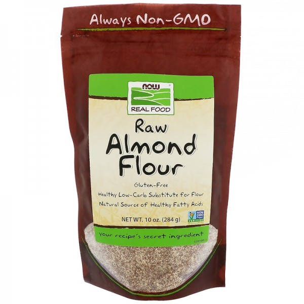Now Foods Real Food Raw Almond Flour 284g
