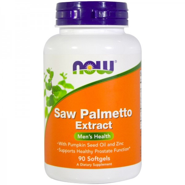 Now Foods Saw Palmetto Extract 80mg 90 Softgels