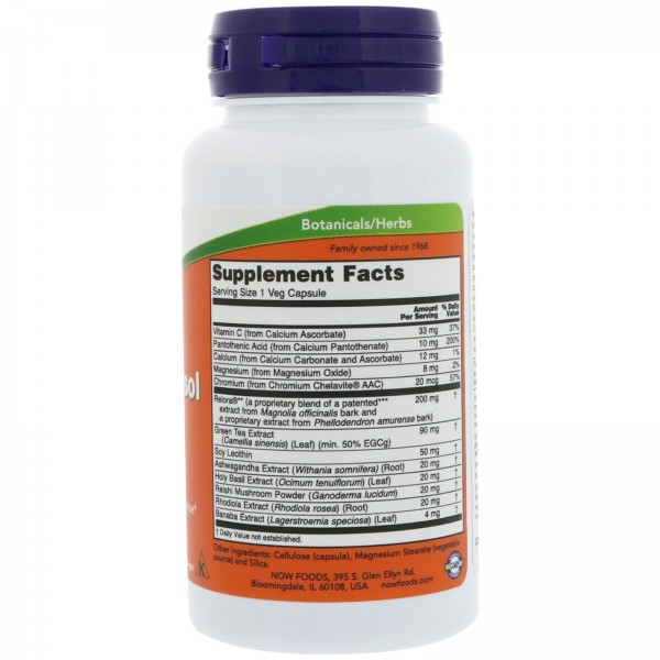 Now Foods Super Cortisol Support 90 Capsules