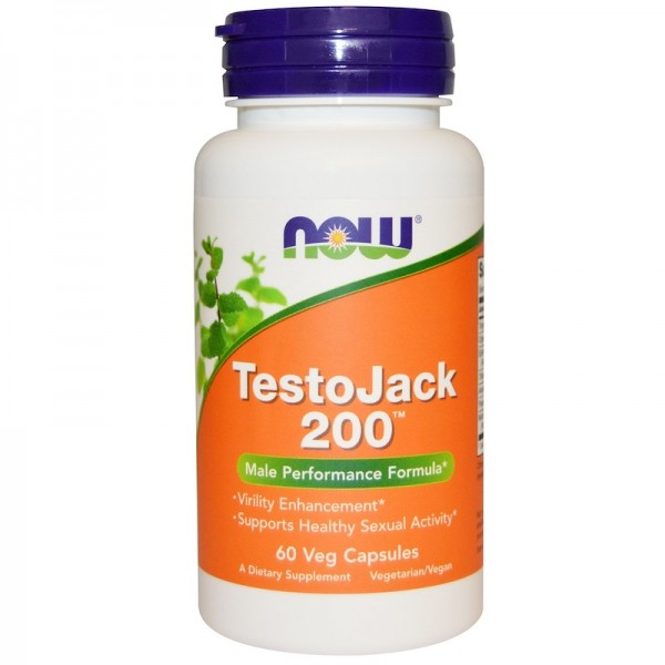 Now Foods TestoJack 200mg 60 Capsules
