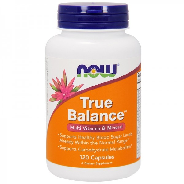 Now Foods True Balance Multi Vitamin and Mineral 120 Capsules