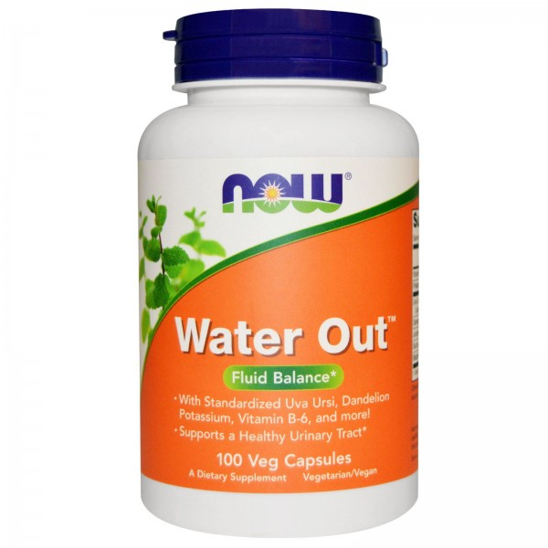 Now Foods Water Out Herbal Diuretic 100 Capsules