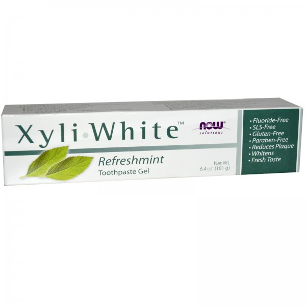 Now Foods XyliWhite Toothpaste Gel Refreshmint 181g