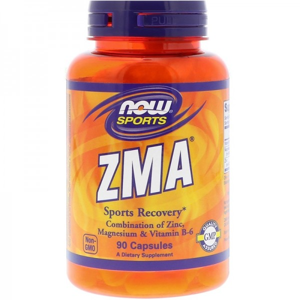 Now Foods ZMA Sports Recovery 90 Capsules