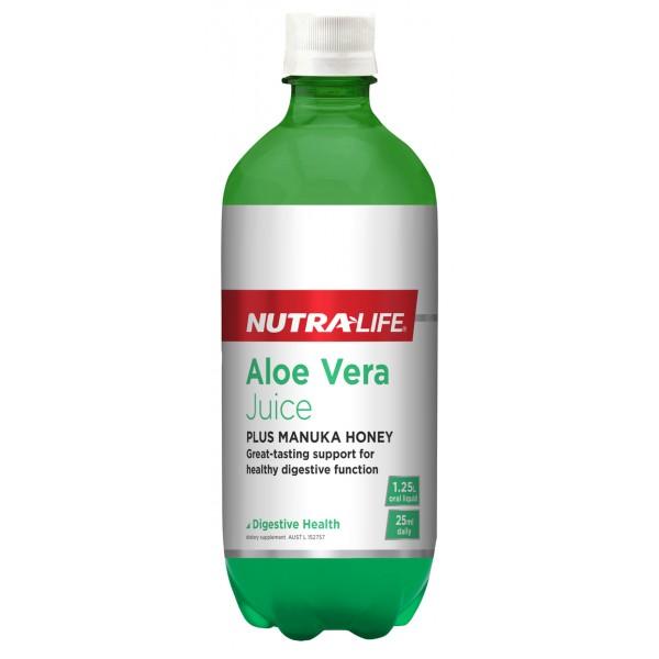 Nutralife Aloe Vera Organic Juice 1.25L