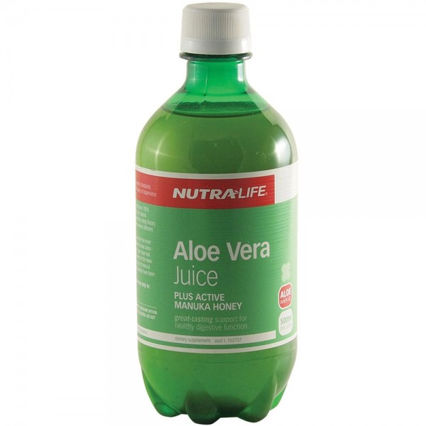 Nutralife Aloe Vera Organic Juice 500ml