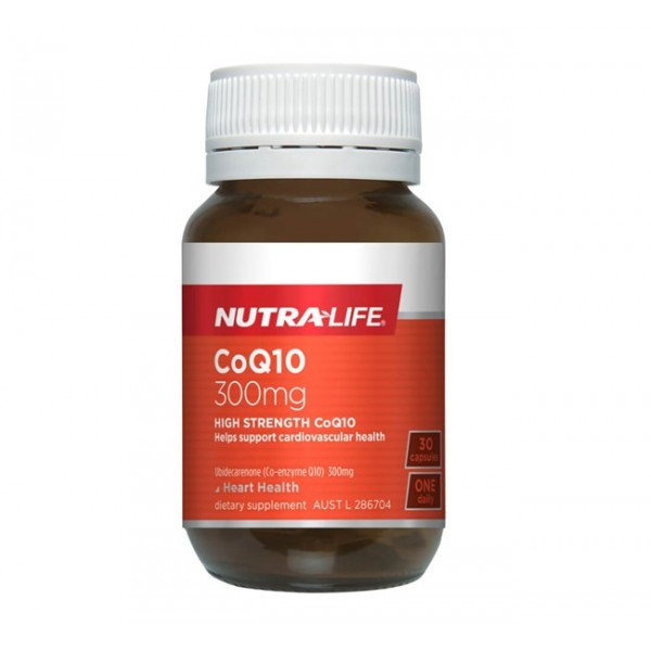 Nutralife CoQ10 Max 300mg 30 Capsules