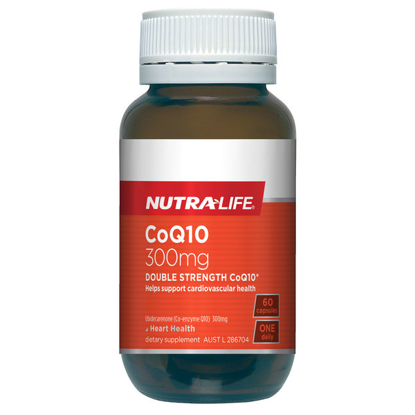 Nutralife CoQ10 Max 300mg 60 Capsules