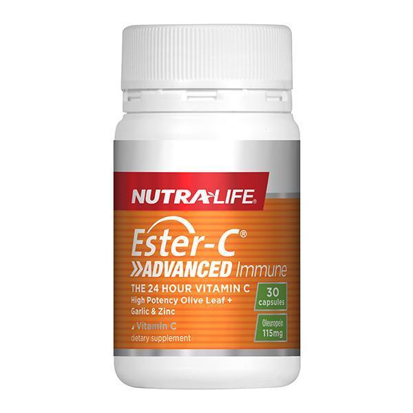 Nutralife Ester C Advanced Immune 30 Capsules