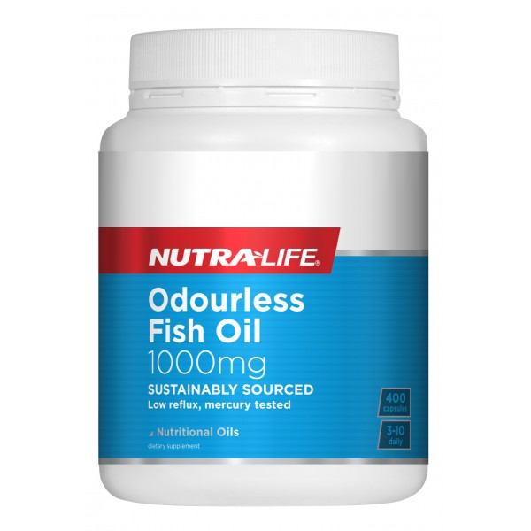 Nutralife Fish Oil 1000mg Capsules