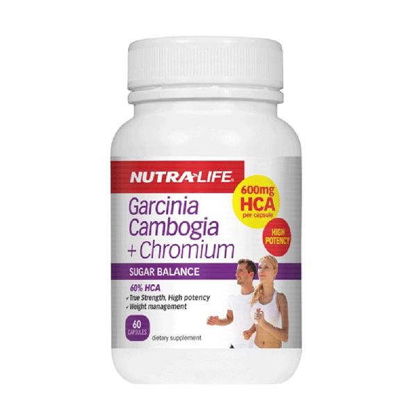 Nutralife Garcinia Cambogia + Chromium 60 Capsules