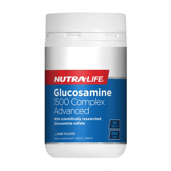 Nutralife Glucosamine 1500 Complex ADVANCED 90 Tablets