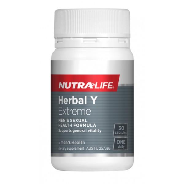 Nutralife Herbal Y Extreme 30 Capsules