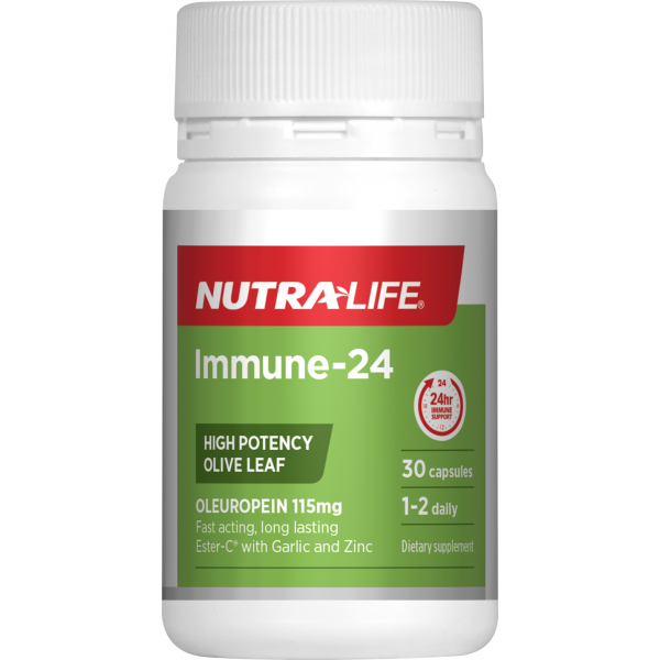 Nutralife Immune Support Olive Leaf 30 Capsules