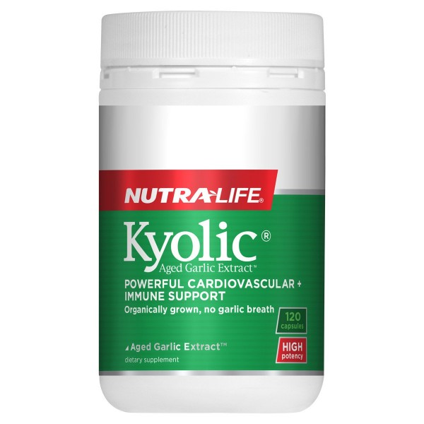 Nutralife Kyolic Aged Garlic Extract 120 Capsules