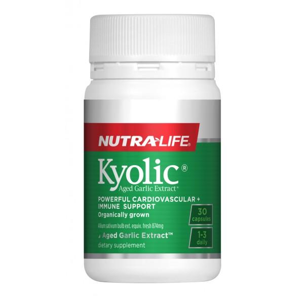 Nutralife Kyolic Aged Garlic Extract 30 Capsules
