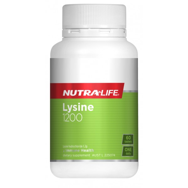 Nutralife Lysine 60 Tablets