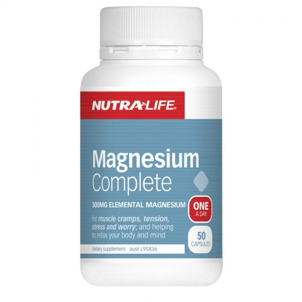 Nutralife Magnesium Complete 50 Capsules