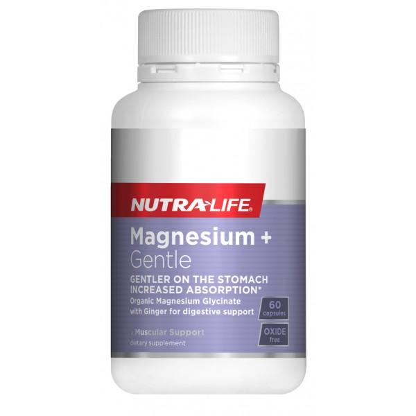 Nutralife Magnesium Glycinate Gentle 60 Capsules