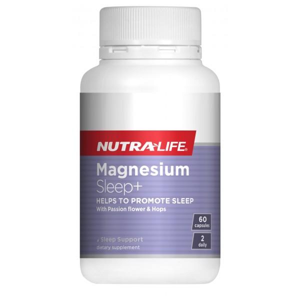 Nutralife Magnesium Sleep+ 60 Capsules