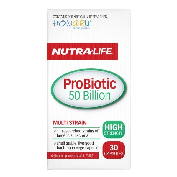 Nutralife ProBiotic 50 Billion 30 Capsules