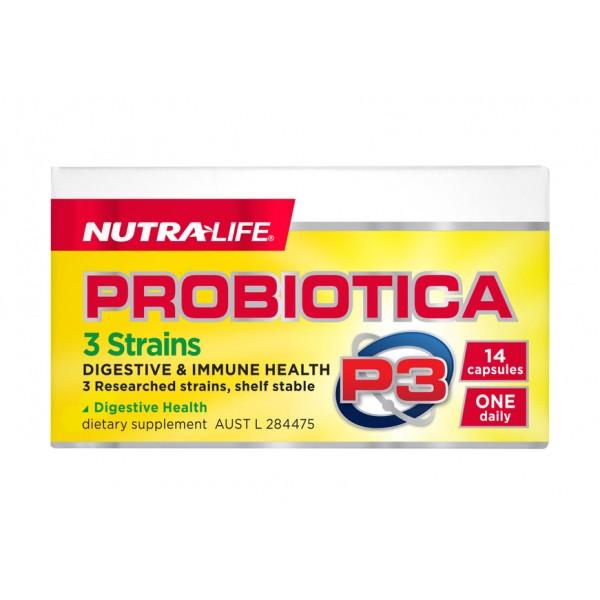 Nutralife Probiotica P3 Probiotic 14 Capsules