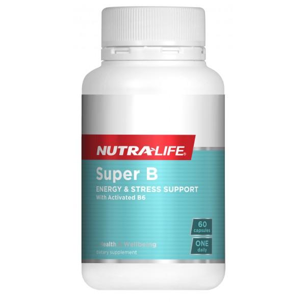 Nutralife Super B Plus 60 Capsules