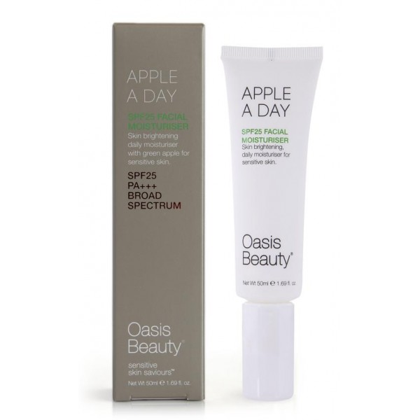 Oasis Beauty Apple a Day SPF25 Facial Moisturiser 50ml