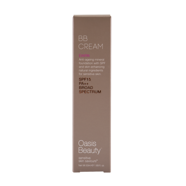 Oasis Beauty BB Cream SPF15 Dark Shade 50ml